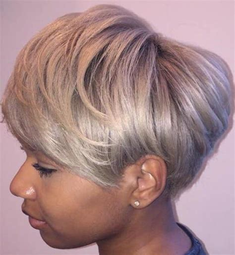 hairstyles blonde in front black in the back 80 amazing short hairstyles for black women bun braids