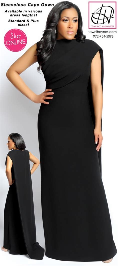 Dress Aynes capes plus size and gowns on