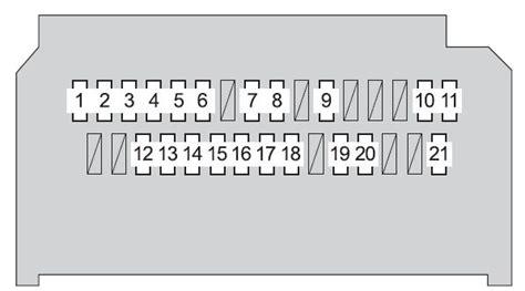 toyota yaris mk2 fuse box diagram auto genius wiring