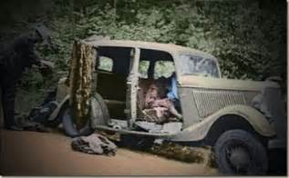 bonnie and clyde photos in color 1932 ford b400 1934 ford v8 sedan color pic this