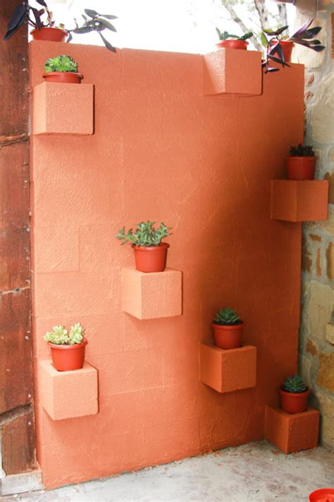 How To Build A Cinder Block Planter Wall by 5 Ways To Use Cinder Blocks In The Garden The Garden Glove