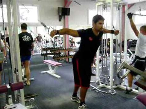 La Chaise Exercice Musculation by Pectoraux Ecart 233 224 La Poulie Vis 224 Vis Haute
