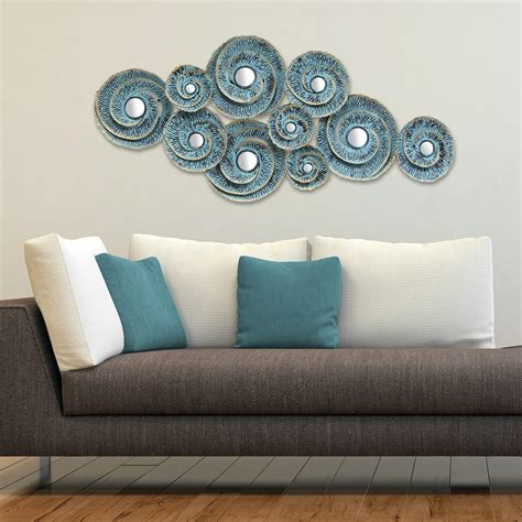 metal home decor stratton home decor decorative waves metal wall decor
