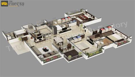 3D Floor Plan   3D Floor Plan   3D Floor Plan For House