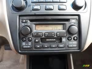 2001 honda accord value package sedan audio system photo