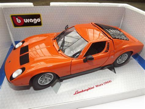 Lamborghini Bburago bburago lamborghini miura 1 18 youtube
