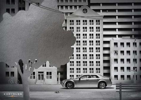 Paper Craft City - papercraft car ads chrysler paper city