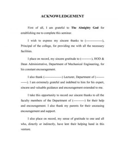 thesis acknowledgement beginning end acknowledgement quotes quotesgram