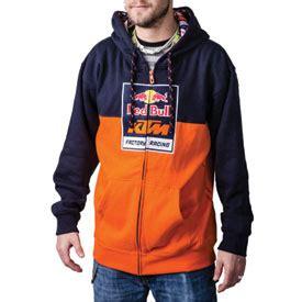 Zipper Hoodie Ktm Racing Hitam ktm bull factory racing logo zip up hooded sweatshirt casual rocky mountain atv mc