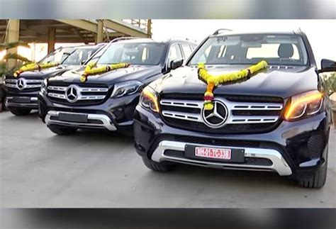 mercedes gifts surat trader gifts mercedes suvs worth rs 3