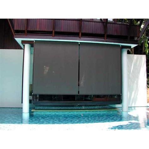 1 Meter Gorden Tirai Dapur Rainy jual tirai hujan roller blind exterior tirai teras