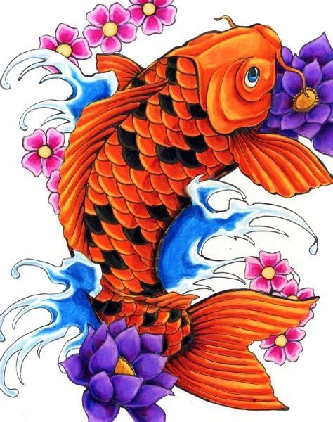 tattoo koi flowers koi fish flower tattoo koi pinterest