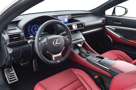 lexus rcf white interior 2015 lexus rc 350 f sport rc f gt3 concept at geneva