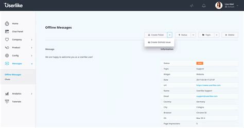 tutorial github api userlike free live chat software for website and mobile