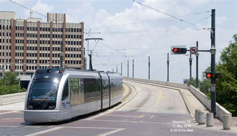 Metro Light Rail Houston by Houston Metrorail Light Rail