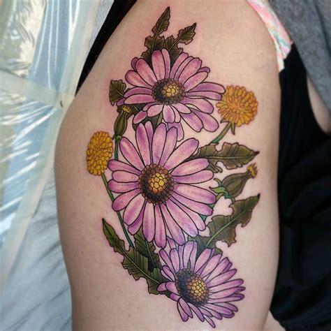 daisy flower tattoo designs 30 flower designs meaning