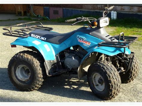 Suzuki 160 Atv 1996 Suzuki Runner 160 For Sale South Nanaimo Nanaimo