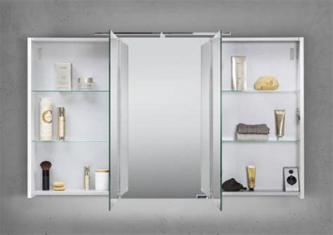 spiegelschrank unterbauleuchte spiegelschrank bad 120 cm led beleuchtung doppelseitig