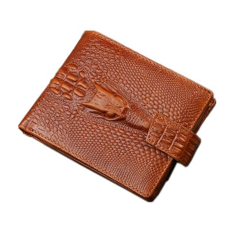 pattern for leather wallet 2016 crocodile pattern genuine leather wallet men wallets