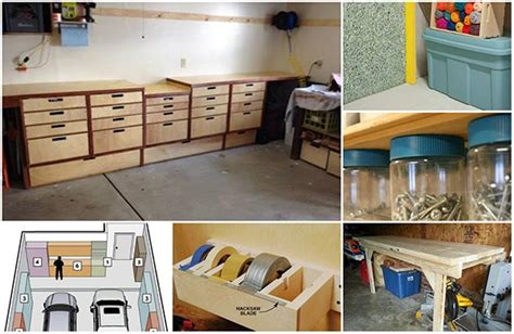 plans for building a garage room design ideas 20 diy garage storage and organization ideas home and
