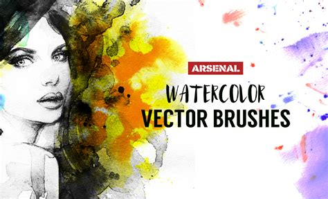 watercolor vector tutorial how to create watercolor brushes in ai