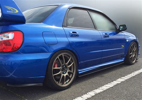 subaru 06 wrx subaru impreza sti 03 07 side skirt extensions rear