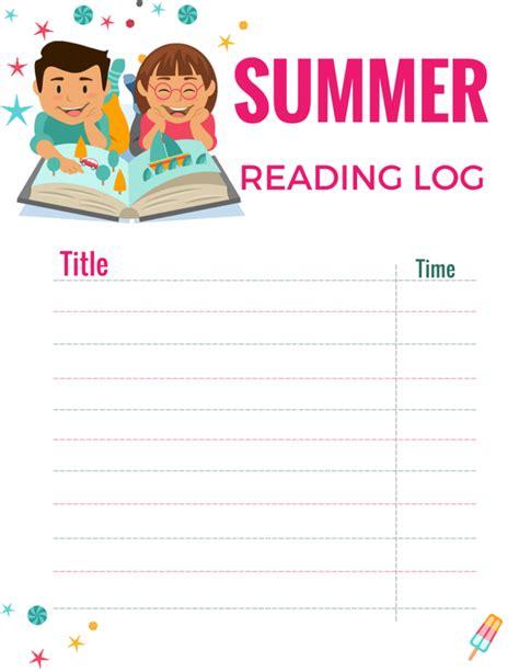printable children s reading log summer reading log free printable momdot