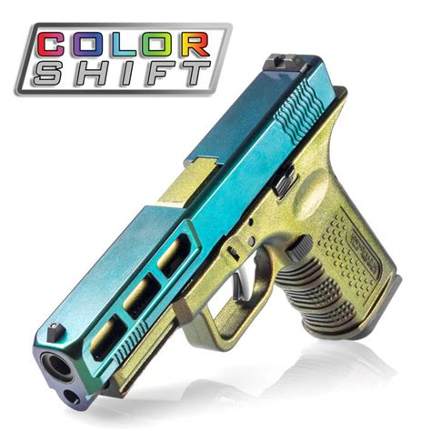 cerakote colors gun of many colors color shift cerakote from lonewolf