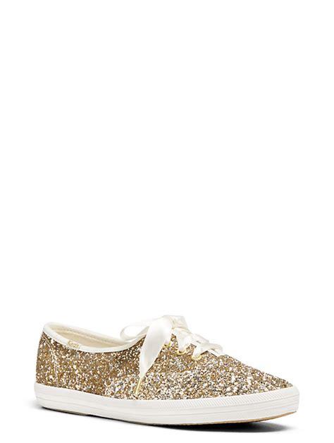 Kate Spade Keds Glitter Sneakers Gold keds x kate spade new york glitter sneakers kate spade