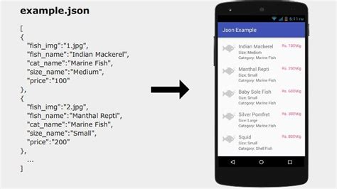 tutorial android json android json parsing and display with recyclerview