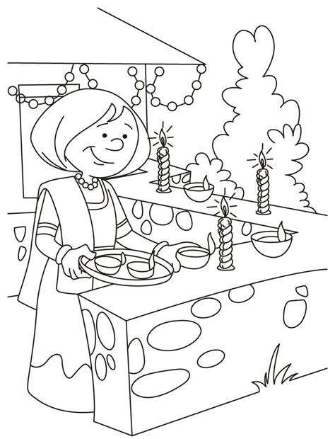 Diwali Coloring Pages 5 Coloring Kids Diwali Coloring Pages