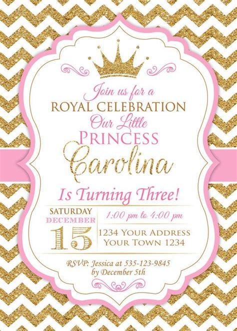 invitaci n de bautizo de princesa para imprimir m 225 s de 1000 ideas sobre invitaciones de cumplea 241 os de