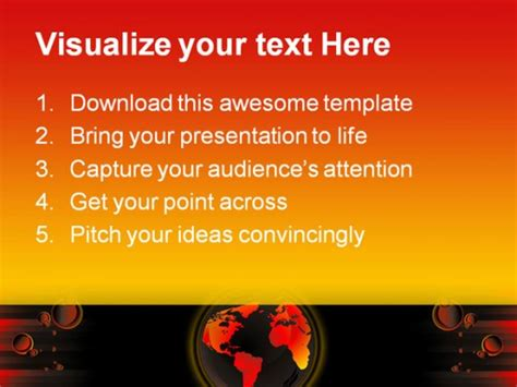 ppt templates free download global warming global warming abstract powerpoint templates and