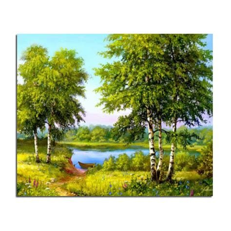 Aliexpress Com Buy Diamond Embroidery Craft Scenery online buy wholesale drawing river from china drawing