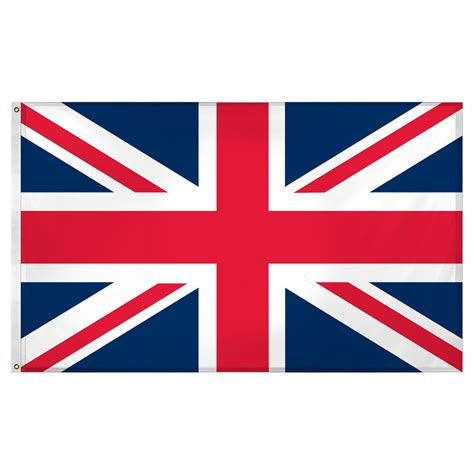 united kingdom great britain 3ft x 5ft superknit polyester