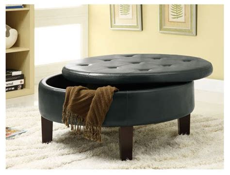 Upholstered Storage Ottoman Coffee Table Upholstered Ottoman Coffee Table Choozone