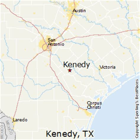 kennedy texas map best places to live in kenedy texas