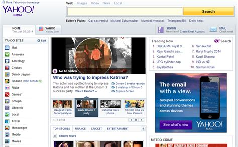 yahoo new layout 2014 ui lessons from reved yahoo homepage design reskilling it