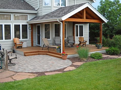 Adding Roof Patio by Custom Roof Additions Decktec Outdoor Designs