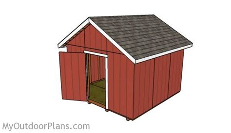 12x12 House Plans 12 X 12 Sheds Plan Diy Crafts