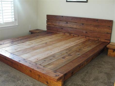 Low Profile Wooden Bed Frame Bed Low Profile Wooden Bed Frame Home Interior Design