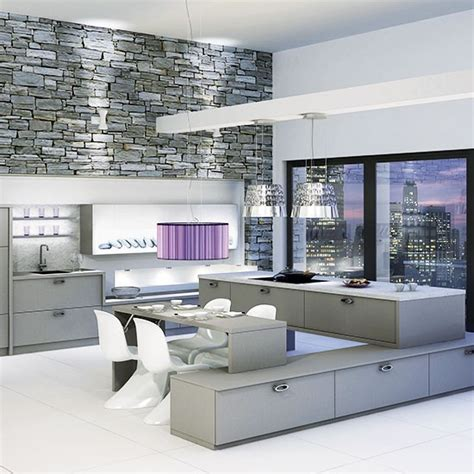 Floating Island Kitchen Floating Kitchen Island Designer Kitchen Units Housetohome Co Uk