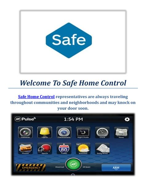 adt home security provo safe home authorstream