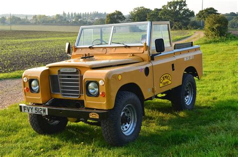 land rover series iii 1981 land rover series iii 88 swb iconic camel trophy