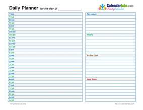 Day Planner Template by Day Planner Template Cyberuse