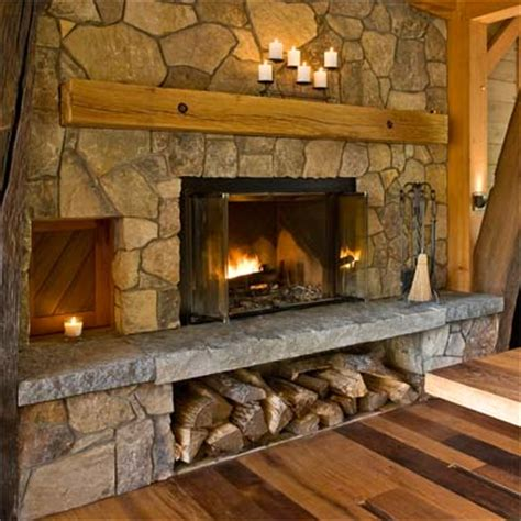 Fireplace With Built In Wood Storage by Best 25 Cabin Doors Ideas On Rustic Doors