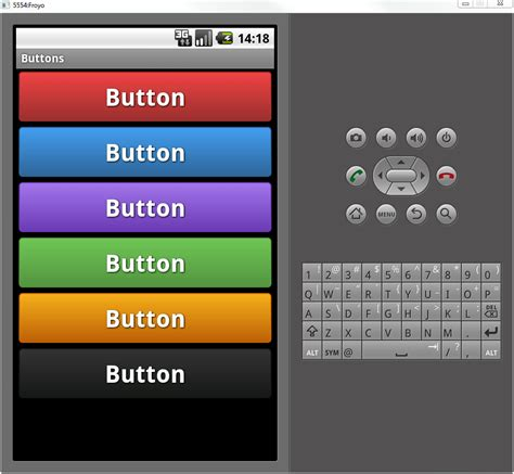 button android gradient buttons for android dibbus