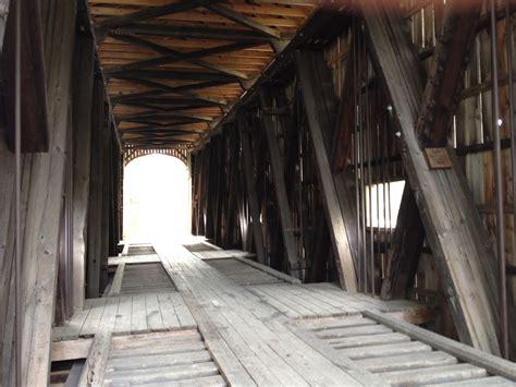 bridgehuntercom east shoreham covered railroad bridge