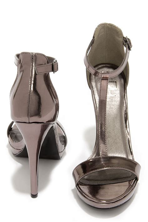 pewter high heels pewter heels high heel sandals 23 00