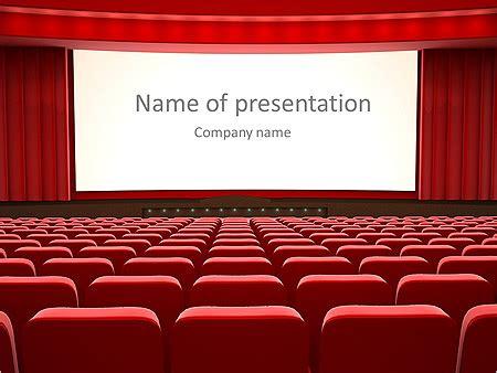 Movie Theater Powerpoint Template Koolzone Info Microsoft Powerpoint Templates Theatre